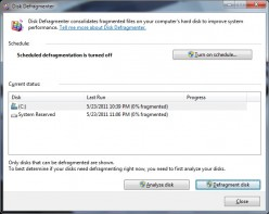 Disk Defragmenter - The Importance of Disk Defragmentation