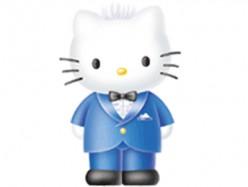 3D cartoon drawing of Hello Kitty's boyfriend Daniel.