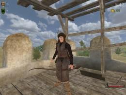 Archer armed in Vaegir war bow