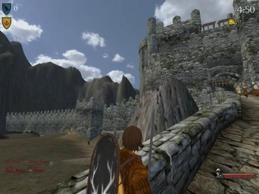 Helm's Deep - siege map on 22nd siege server ;-)