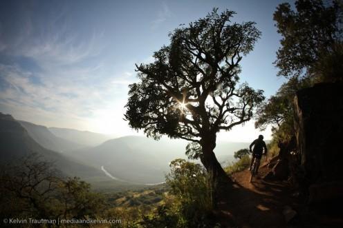 Umkomaas Valley in the morning light