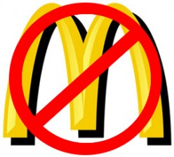 Politically-correct alternative icons to Ronald McDonald and his fiendish allies