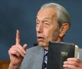 Harold Camping, a minister of the Family Radio Network out of Oakland California