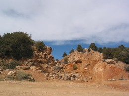 More evidence of Mining activities from the 1850s: Doble, California.