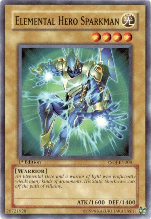 Elemental Hero Sparkman the Shining Messager