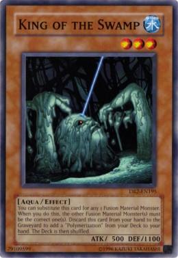 King of the Swamp the Secret Elemental hero