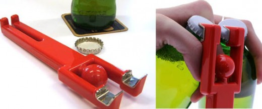 Unique Beer bottle opener - Double opener