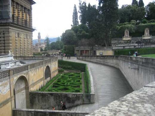 Maze in Giardino di Bboli