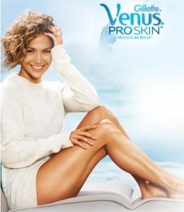 Jennifer Lopez Skin on Jennifer Lopez For Venus Pro Skin