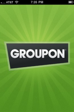 Groupon Daily Deal App