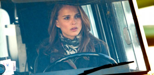Natalie Portman, doing some 'wonder what on Earth that is' acting, very nicely.