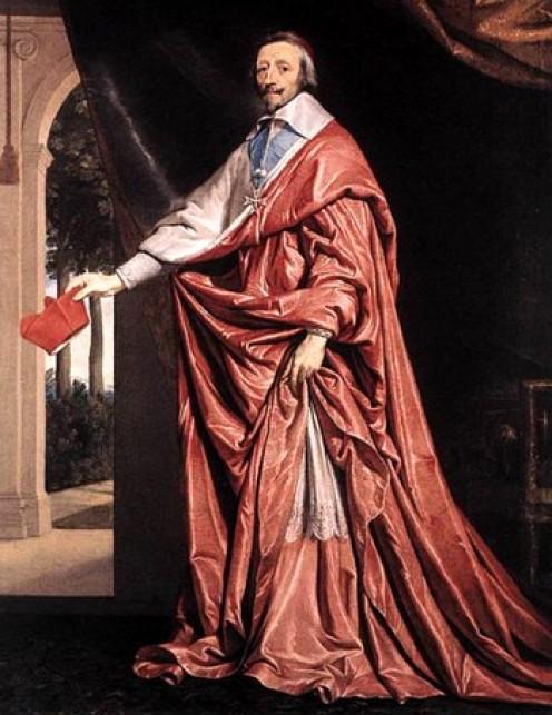 Cardinal, the Duke Armand Jean du Plessis de Richelieu.  1585-1642