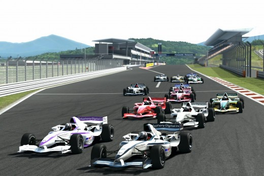 Formula GT at Fuji Speedway.