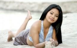 Sarah Gurung with a beautiful smile