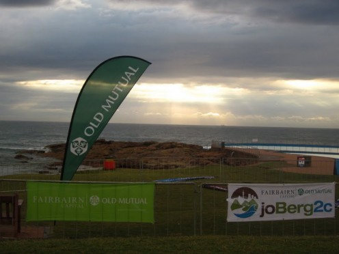A cloudy finish in Scottburgh