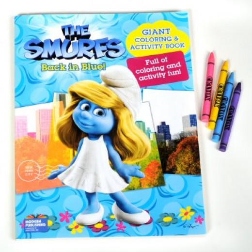 Smurfs Giant Coloring Book