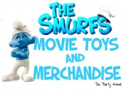 Smurfs Movie Toys and Merchandise