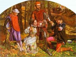 Holman Hunt Valentine Rescuing Sylvia