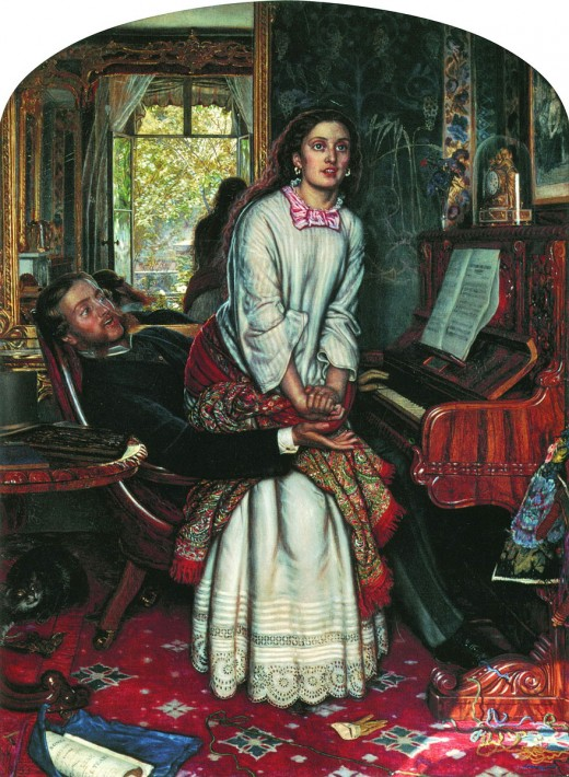 Holman Hunt The Awakening of Conscience