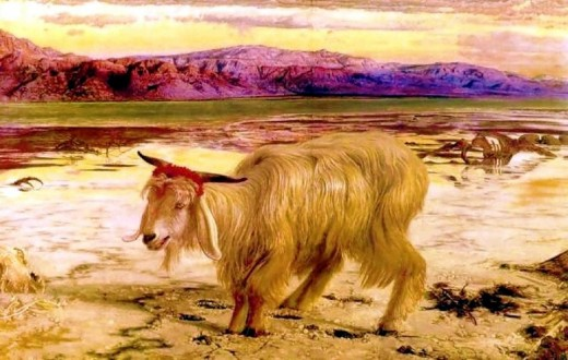 Holman Hunt The Scapegoat