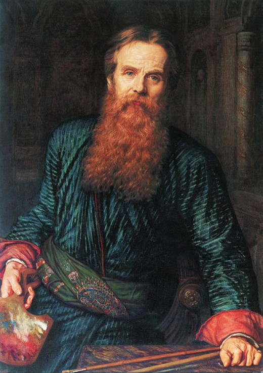 Holman Hunt Self-Portrait