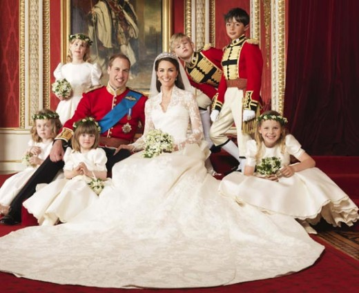 Royal Wedding 2011 of Prince William and Catherine Middleton