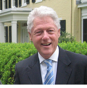 U.S. President Bill Clinton