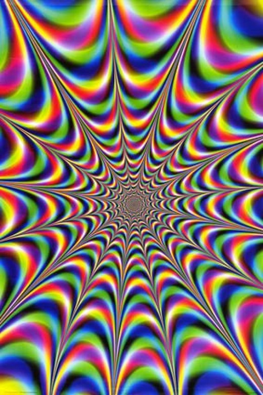 Explanation of How Optical Illusions Happen