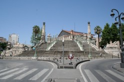 Monumental stairway, Saint-Charles station, Marseille