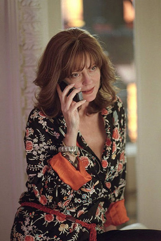 Susan Sarandon in Alfie. I've always loved her as an actress!