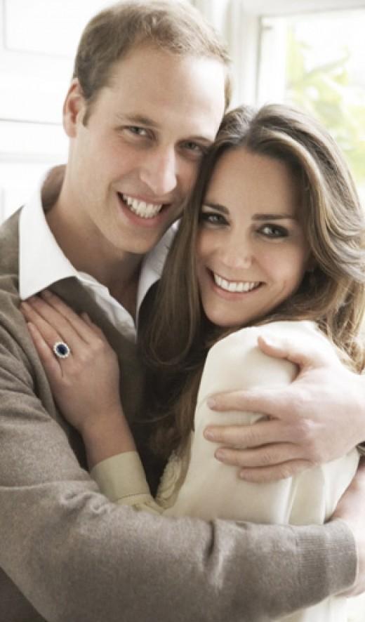 William & Kate Romantic Photo