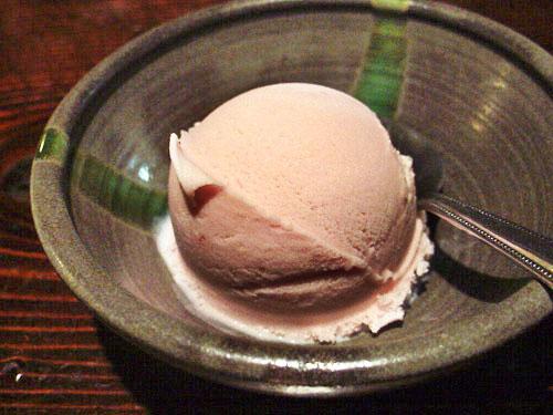 red bean ice cream
