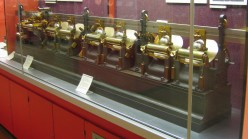 Lord Kelvin's harmonic analyser (1878).  (Image courtesy Andy Dingley and Wikimedia Commons)