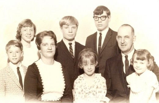 A wonderful family full of love