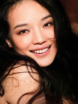 Shu Qi with a beautiful smile