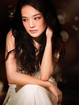 Shu Qi photo shoot looking innocent