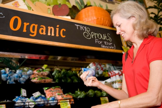 Organic food is healthy for women and children