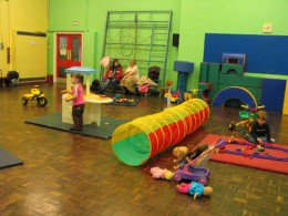 Toddler group at local church