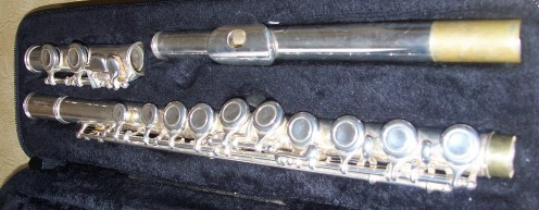 The flute comes in a hard case.  This helps you to carry it around safely when you are not using it.