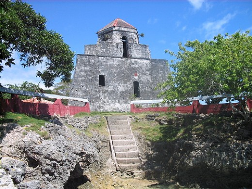 Bantayan sa Hari is located under the Mandaue-Opon Bridge. This Spanish colonial watchtower gave Mandaue resident a vantage view of the sea and marauding pirates.