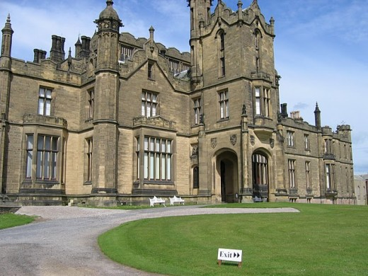 Haunted Allerton Castle in Yorkshire where 1920 Bollywood horror movie was shot.