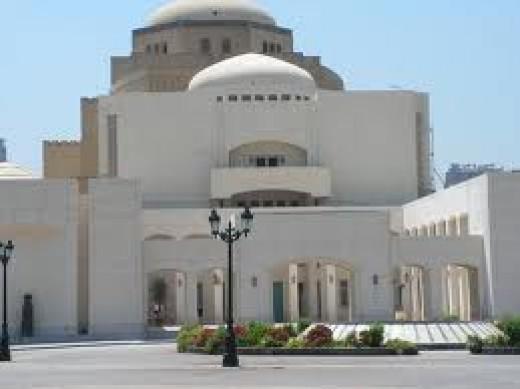 Opera House Cairo, Egypt.