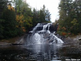 Waterfalls can also work well for a relaxing visualization.