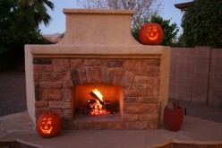 Building Your Own Outdoor Fireplace - DIY Part 3
