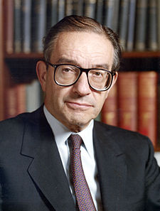 ALAN GREENSPAN - 13th Chairman of the Board of Governors of the Federal Reserve