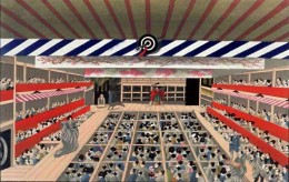 Play of kabuki around 1860.