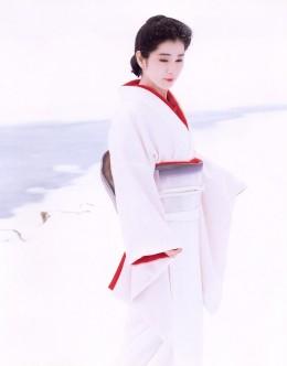 Iromuji - one colour kimono.