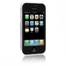 iPhone 3G in crystal clear snap-on hard case