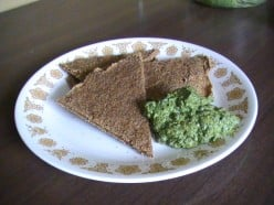 Raw Food Expert Makes Buckwheat Crackers