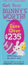Monthly Coupon Books at front of store